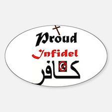 PROUD INFIDEL Decal