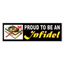 Infidel Bumper Bumper Bumper Sticker