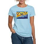 Schnauzer at the beach Women's Light T-Shirt