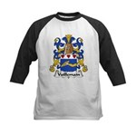 Vuillemain Family Crest  Kids Baseball Jersey