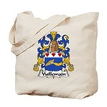 Vuillemain Family Crest  Tote Bag