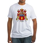 Vivier Family Crest Fitted T-Shirt