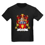 Vivier Family Crest Kids Dark T-Shirt