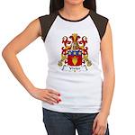 Vivier Family Crest Women's Cap Sleeve T-Shirt