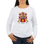 Vivier Family Crest Women's Long Sleeve T-Shirt