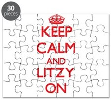 Keep Calm and Litzy ON Puzzle