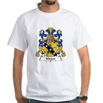 Vivien Family Crest White T-Shirt