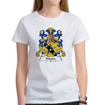 Vivien Family Crest Women's T-Shirt
