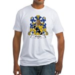Vivien Family Crest Fitted T-Shirt