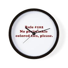 Rule #102 Wall Clock