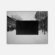 Wintry Boston, Newbury St Picture Frame