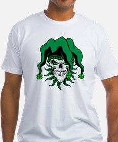 Irish Jester Skull T-Shirt