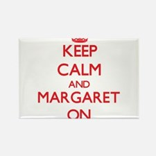 Keep Calm and Margaret ON Magnets