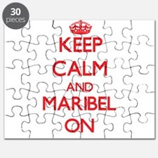 Keep Calm and Maribel ON Puzzle