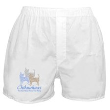Never Too Many Chihuahuas Boxer Shorts