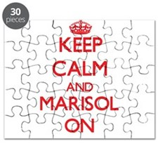 Keep Calm and Marisol ON Puzzle