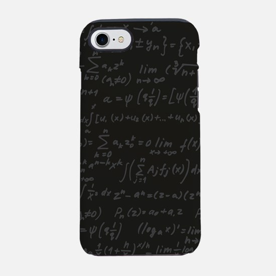 Scientific Formula On Blackboa iPhone 7 Tough Case