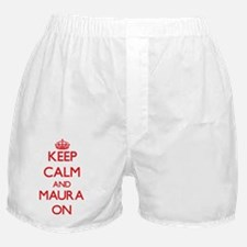 Keep Calm and Maura ON Boxer Shorts