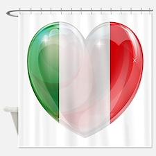 My Italian Heart Shower Curtain