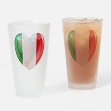 My Italian Heart Drinking Glass