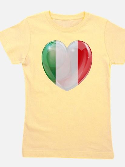My Italian Heart Girl's Tee