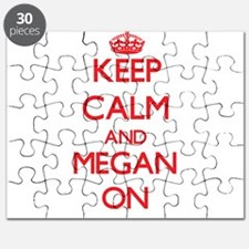 Keep Calm and Megan ON Puzzle