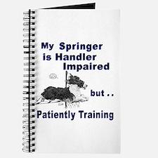 Springer Spaniel Agility Journal