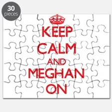 Keep Calm and Meghan ON Puzzle