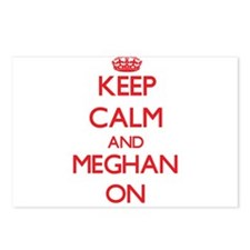 Keep Calm and Meghan ON Postcards (Package of 8)