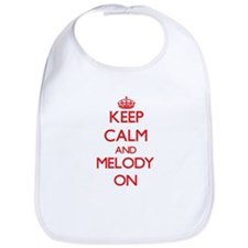 Keep Calm and Melody ON Bib