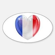 My French Heart Decal