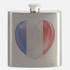 My French Heart Flask
