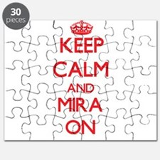 Keep Calm and Mira ON Puzzle