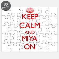 Keep Calm and Miya ON Puzzle