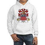 Vilain Family Crest Hooded Sweatshirt