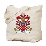 Vilain Family Crest  Tote Bag