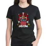 Vilain Family Crest  Women's Dark T-Shirt