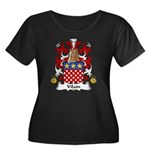 Vilain Family Crest  Women's Plus Size Scoop Neck