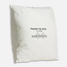 Christianity Burlap Throw Pillow