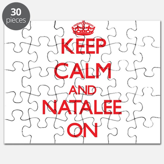 Keep Calm and Natalee ON Puzzle
