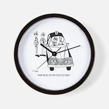 Police Cartoon 4821 Wall Clock