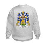 Viguier Family Crest  Kids Sweatshirt