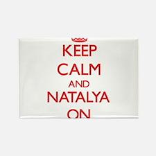 Keep Calm and Natalya ON Magnets