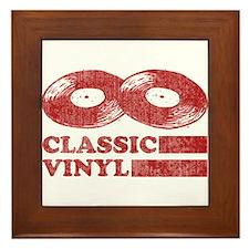 Classic Vinyl Framed Tile