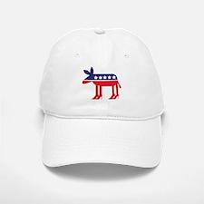 Democratic Donkey on Heels Baseball Baseball Baseball Cap