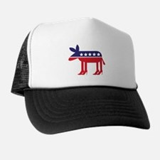 Democratic Donkey on Heels Trucker Hat