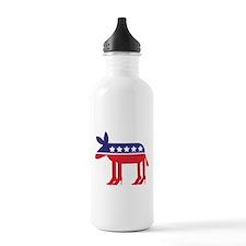 Democratic Donkey on Heels Water Bottle