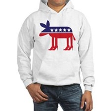 Democratic Donkey on Heels Hoodie