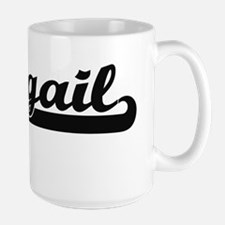 Abagail Classic Retro Name Design Mugs