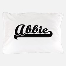 Abbie Classic Retro Name Design Pillow Case
